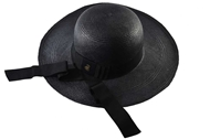 Picture of Lady Classic Panama Hat - Black