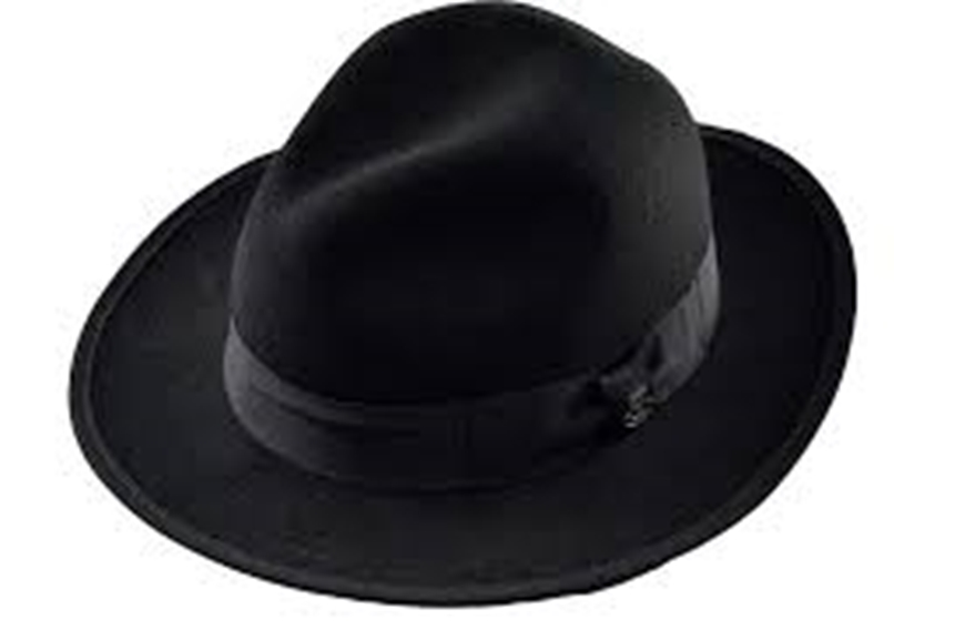 Picture of Wool Fedora - Black