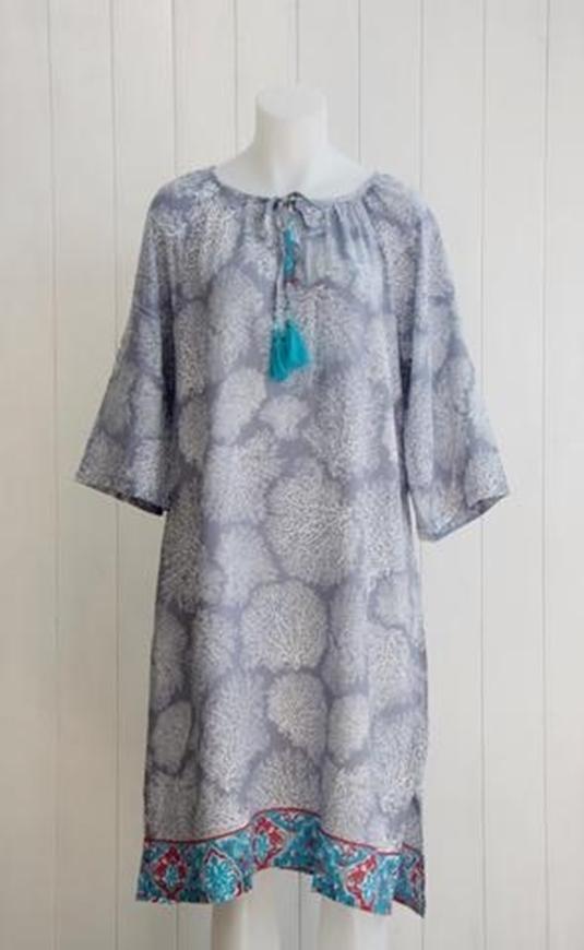 Picture of La Madu - Coral Dress