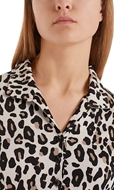 Picture of Marc Cain - Midi Dress with Leopard Print