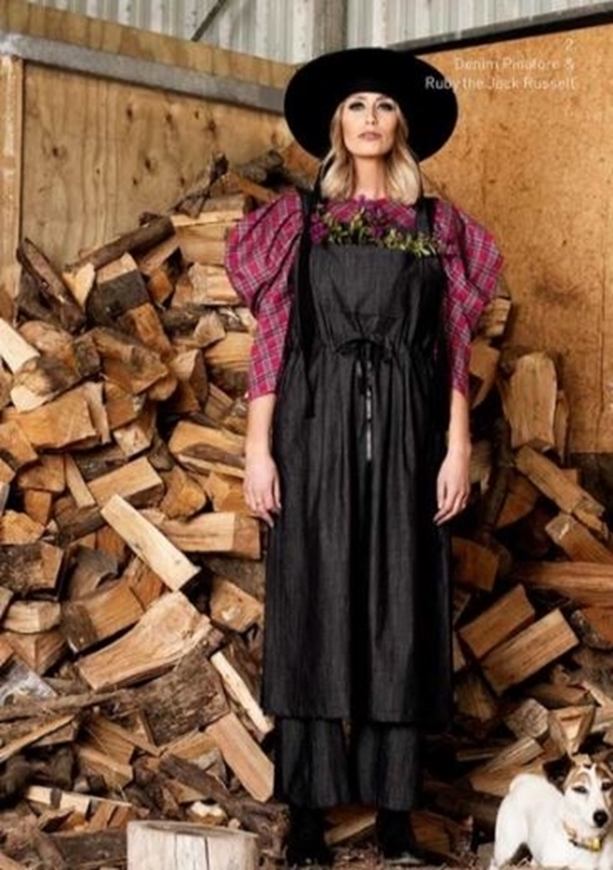 Picture of Sheryl May - Denim Pinafore