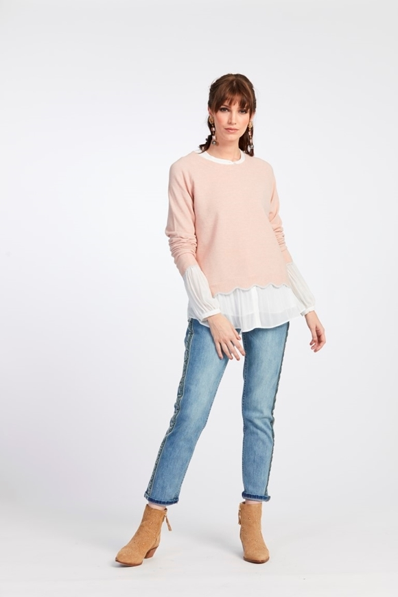 Picture of Loobie's Story - Amelia Crop Sweater