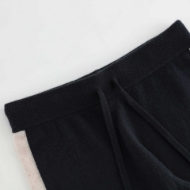 Picture of Aleger Cashmere - Colour Block Rib Hem Track Pant